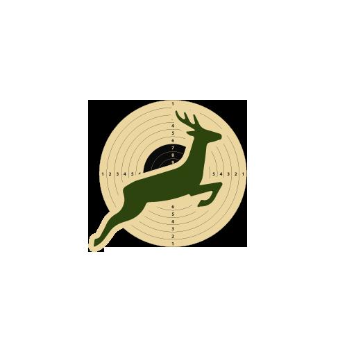 Gladius Jagd silber mit Linksschaft