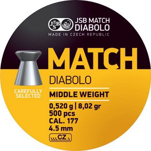 JSB Match Middle Weight